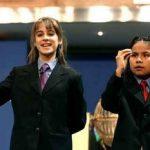 ¿Cómo llevan los niños el hecho de cantar el Gordo?