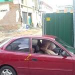 Encuesta de fornicar en el coche acabada
