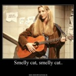 Phoebe y su smelly cat