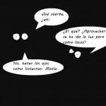 Tiras cómicas: Cuando se va la luz