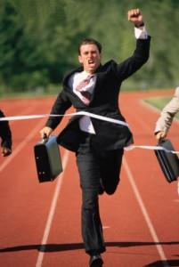 Internet está lleno de imágenes de tíos con traje llegando a la meta. Metáforas de guruses, basta ya.