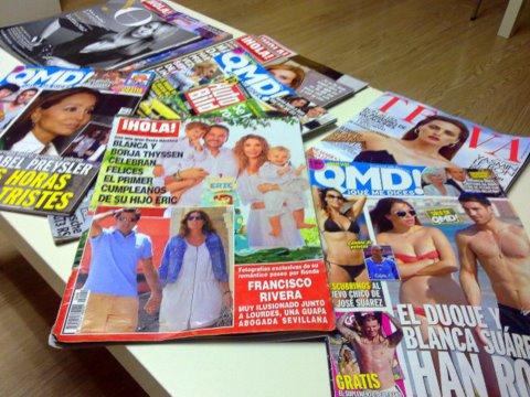 revistas sala de espera