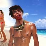 Detienen a un turista drogado por morder a los bañistas