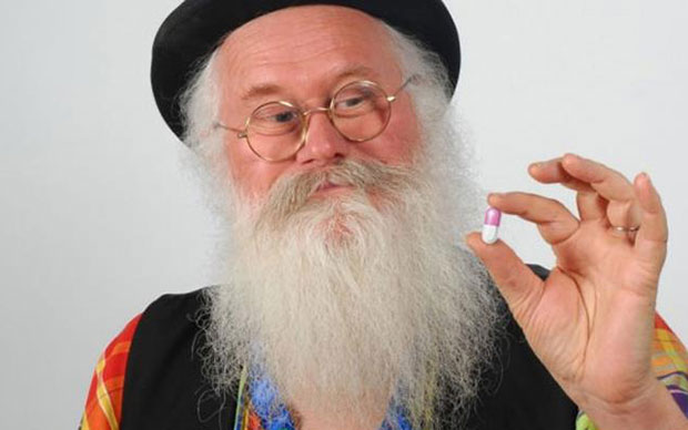 El hermano hippie de Papá Noel es el inventor