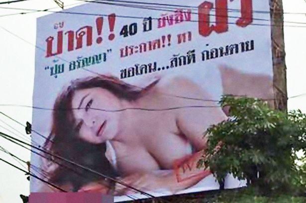 virgen tailandesa 40 cartel