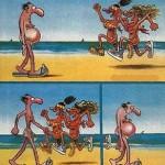 La playa: Formas de ocultar la barriga