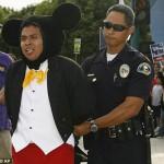 ¡Detienen a los personajes de Disney!