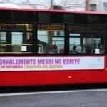 Los eslógans en los autobuses