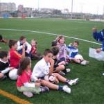 Los padres que van a ver a sus hijos al fútbol
