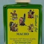 Línea de productos MACHO: La colonia