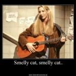 Phoebe y su smelly cat