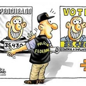 político ladrón robar