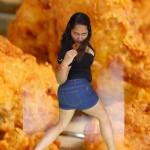La gente está muy mal: La salida del pollo frito